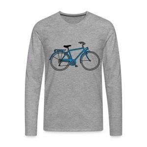 Fahrrad 3 - Männer Premium Langarmshirt