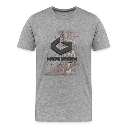 Kris Grey Music Design - Männer Premium T-Shirt