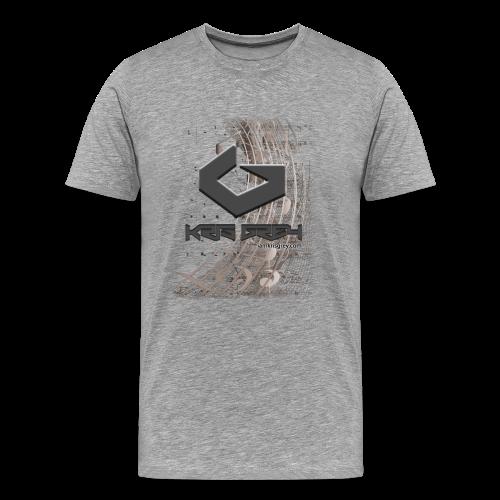 Kris Grey Music Design - Männer Premium T-Shirt