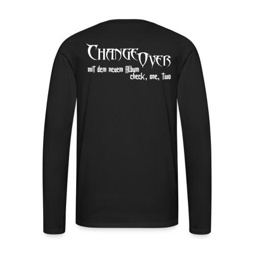 Changeover neues Album - Männer Premium Langarmshirt