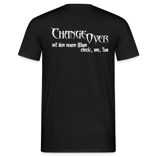 Changeover neues Album - Männer T-Shirt