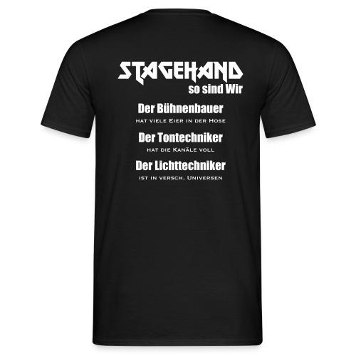Stagehand son sind wir - Männer T-Shirt