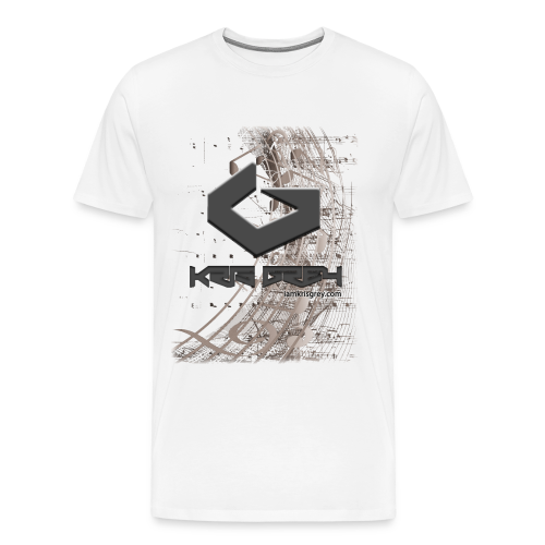 Kris Grey Music Design BIG - Männer Premium T-Shirt