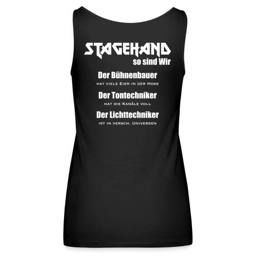 Stagehand so sind wir - Frauen Premium Tank Top