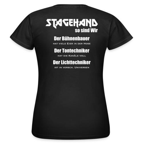 Stagehand so sind wir - Frauen T-Shirt