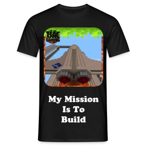 My Mission Is To Build Glow In The Dark T-shirt - Men's T-Shirt