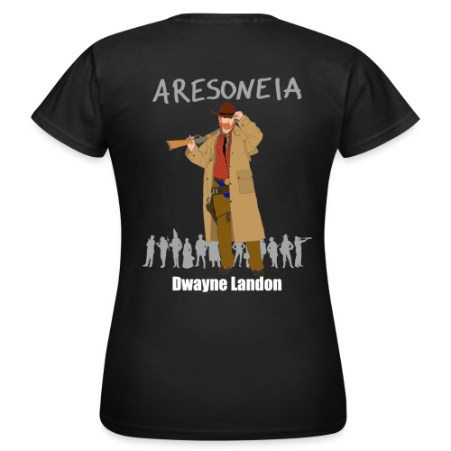 Aresoneia-Landon (Weiß) - Damen-Shirt - Frauen T-Shirt