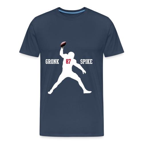 Gronk Spike Shirt navy - Männer Premium T-Shirt