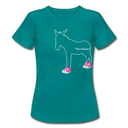 Pure Genius - Fluo - T-shirt Femme