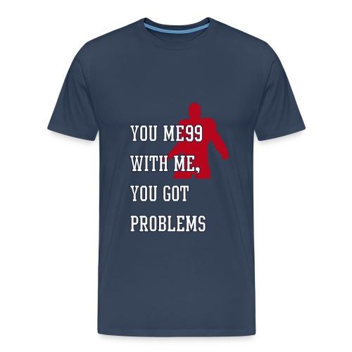 JJ Watt Shirt navy red - Männer Premium T-Shirt