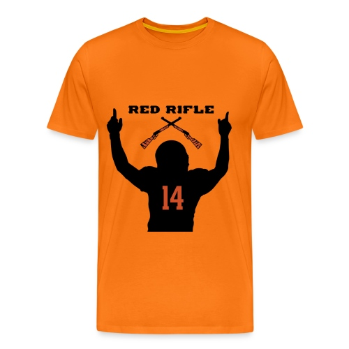 Red Rifle Shirt orange - Männer Premium T-Shirt