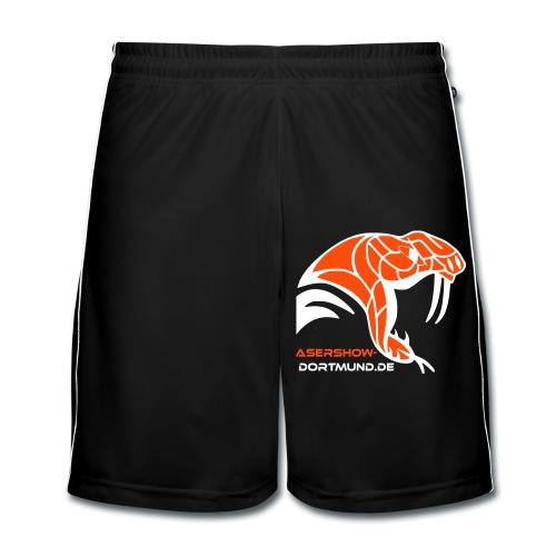 Snake´s Black - Männer Fußball-Shorts