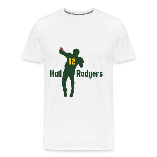 Hail Rodgers Shirt white green - Männer Premium T-Shirt