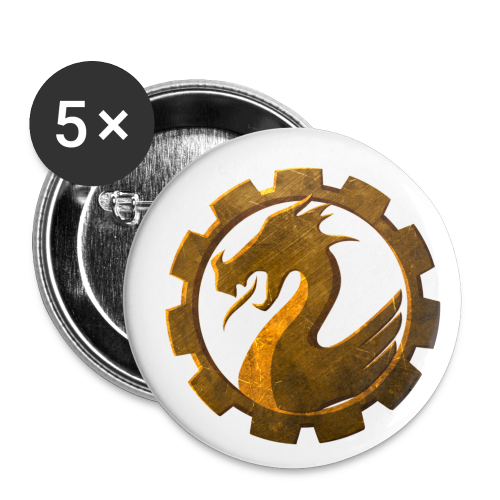 GW2Community Buttons - Buttons mittel 32 mm