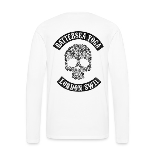 Sons of Battersea Men's Long Sleeve (black logo) - Men's Premium Longsleeve Shirt