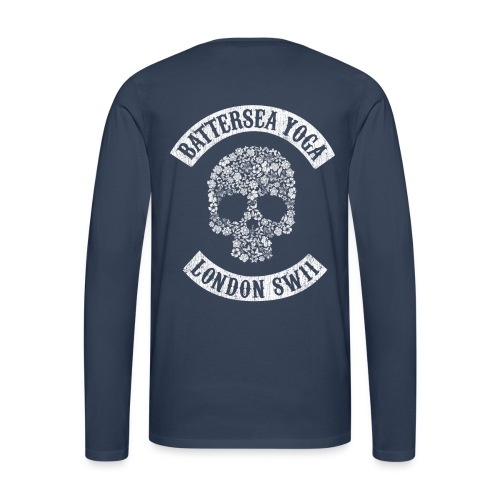 Sons of Battersea Men's Long Sleeve (white logo) - Men's Premium Longsleeve Shirt