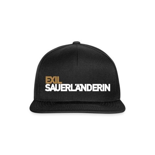 Exil-Sauerländerin - Snapback Cap