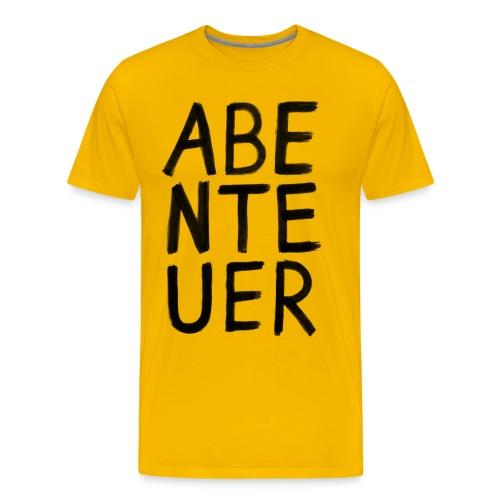 Abenteuer Shirt für Abenteurer - Männer Premium T-Shirt
