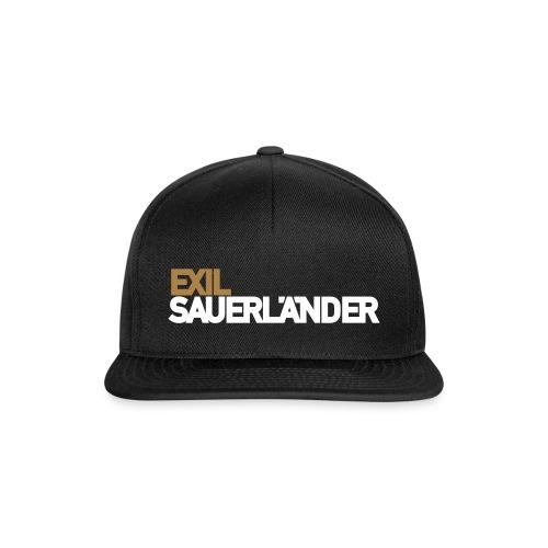 Exil-Sauerländer - Snapback Cap
