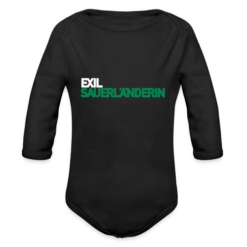 Exil-Sauerländerin - Baby Bio-Langarm-Body