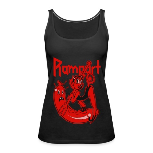 Rampart - Demon Lover Cartoon (Womens) - Naisten premium hihaton toppi
