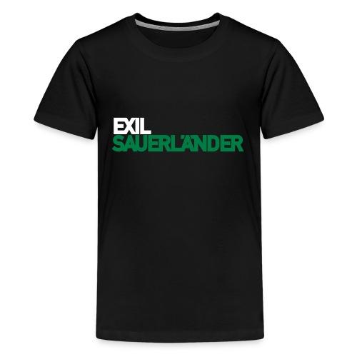Exil-Sauerländer - Teenager Premium T-Shirt