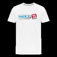 Tee shirts ~ T-shirt Premium Homme ~ Madein15 - Z'
