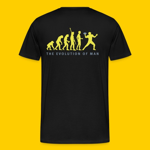 T-SHIRT HOMME The Evolution of Man - T-shirt Premium Homme