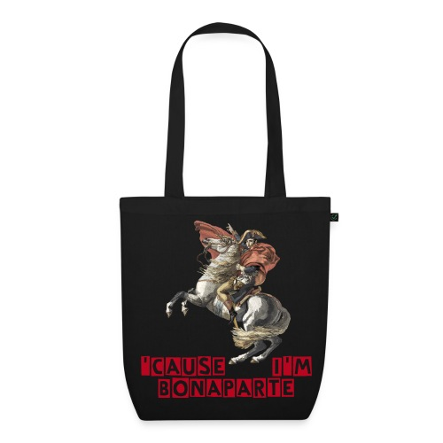 Napoleon Bonaparte Shopping Bag - EarthPositive Tote Bag