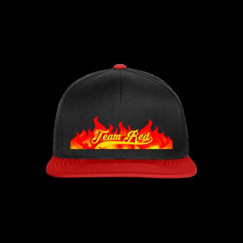 Team Red - Snapback Cap