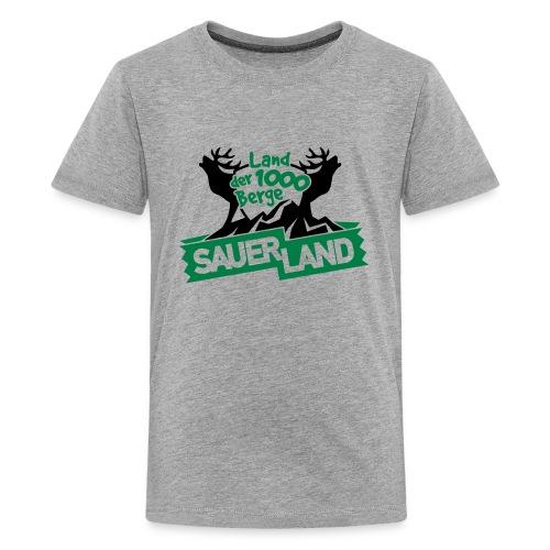 Bergeland - Teenager Premium T-Shirt