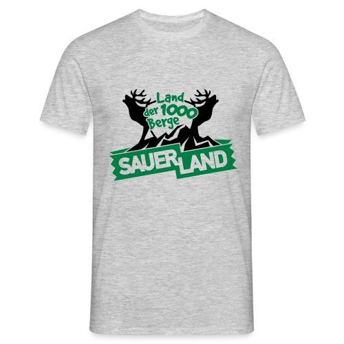 Bergeland - Männer T-Shirt
