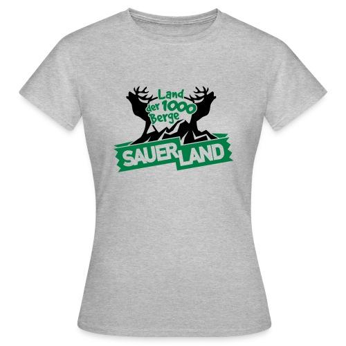 Bergeland - Frauen T-Shirt