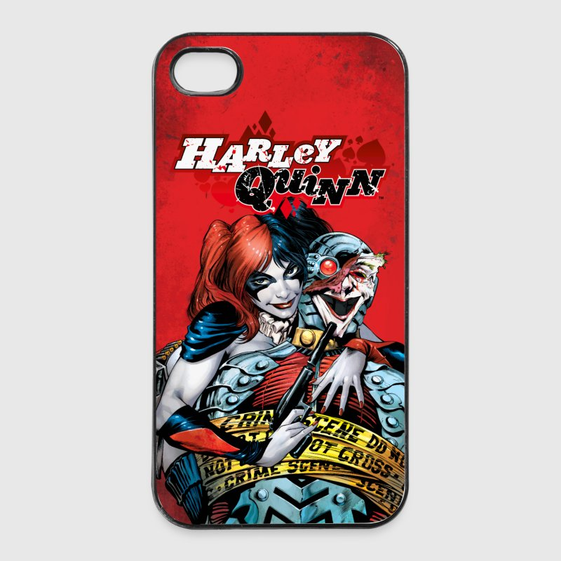 Suicide Squad Harley Quinn and Joker - iPhone 4/4s kovakotelo