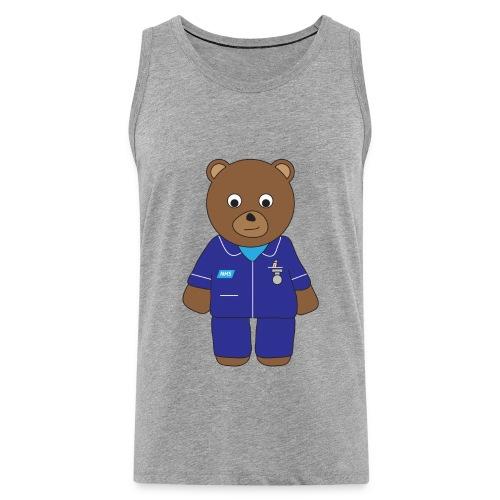 Nurse Bear tank - Men's Premium Tank Top