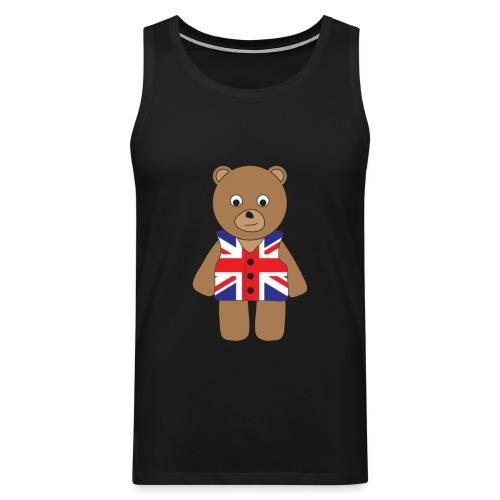 UK Bear tank - Men's Premium Tank Top