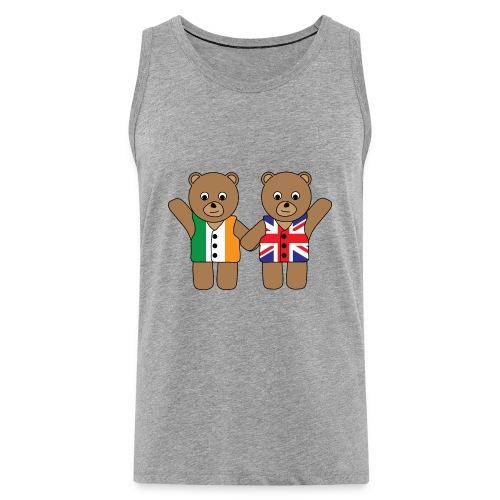 British Irish Friend Bears tank - Men's Premium Tank Top