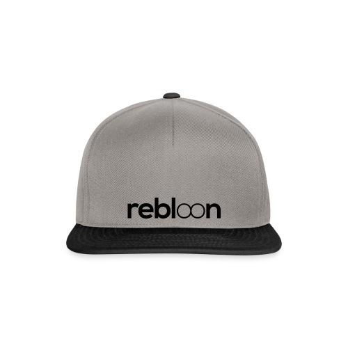 Brandcap Grey/Black - Snapback Cap