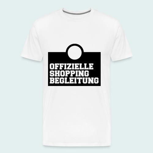 Offizielle Shopping Begleitung Herren-Shirt - Männer Premium T-Shirt