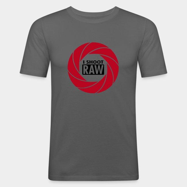 I SHOOT RAW - Red/Black