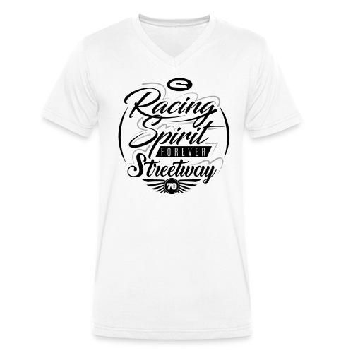 Racing Spirit Forever - T-shirt bio col V Stanley & Stella Homme