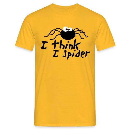 Funshirt - I think i spider - Männer T-Shirt