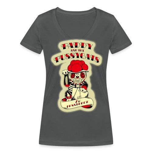 PATPC's-W2grey - Frauen Bio-T-Shirt mit V-Ausschnitt von Stanley & Stella