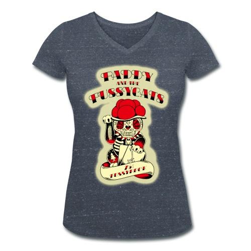 PATPC's-W2blue - Frauen Bio-T-Shirt mit V-Ausschnitt von Stanley & Stella