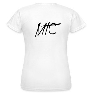 MTC T-shirt (Black Print, Women) - Vrouwen T-shirt