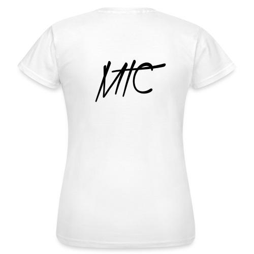 MTC T-shirt (Black Print, Women) - Vrouwen T-shirt