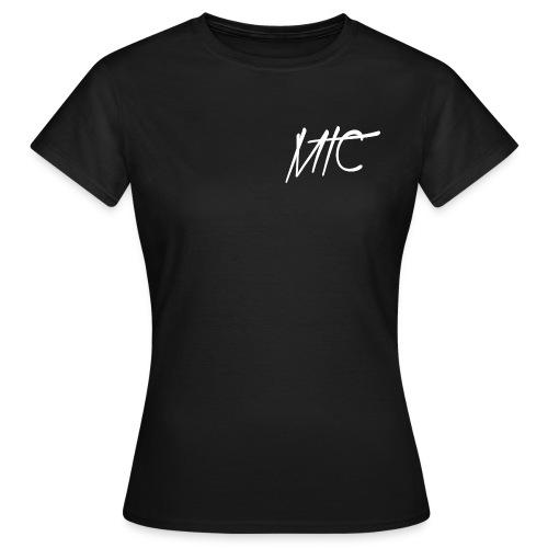 MTC T-shirt (White Print, Women) - Vrouwen T-shirt
