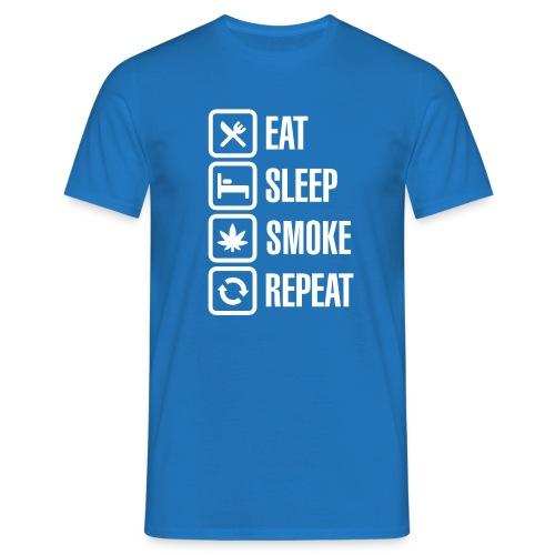 Funshirt - Eat, Sleep,... - Männer T-Shirt