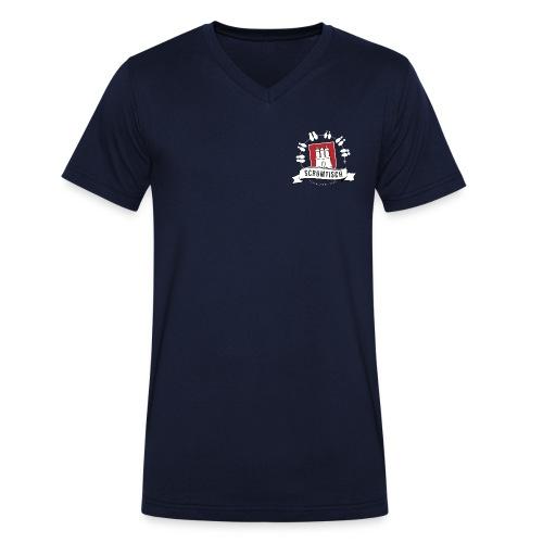 Scrumtisch Hamburg - Männer Fan Shirt - Männer Bio-T-Shirt mit V-Ausschnitt von Stanley & Stella