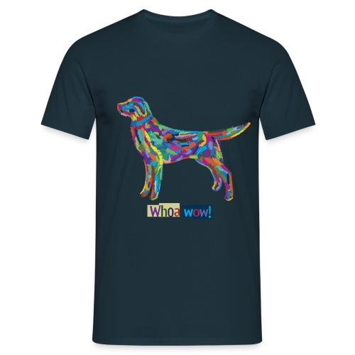 Bunter Hund - Männer-T-Shirt - Männer T-Shirt